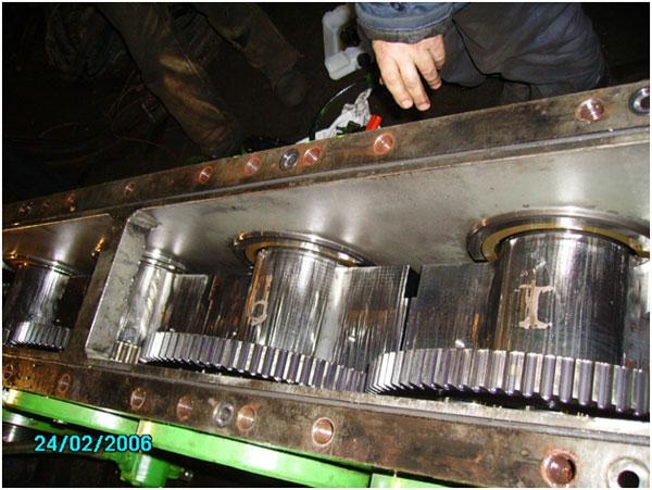 Капитальный ремонт безрезонансного вибропогружателя ICE 28RF