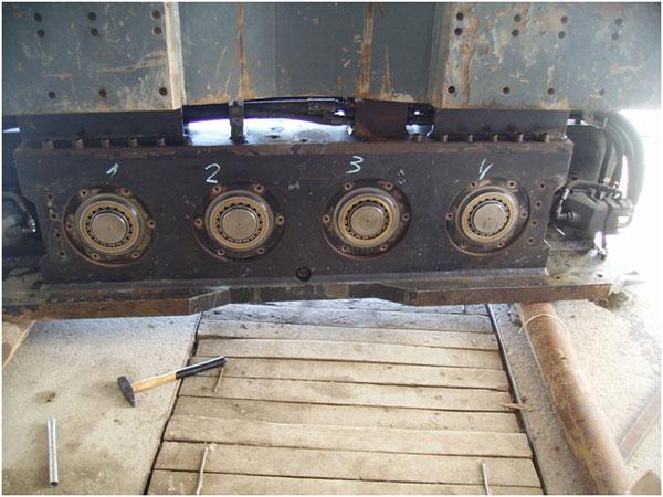 Капитальный ремонт вибропогружателя ICE 32NF